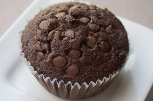 resep chocochips cupcake